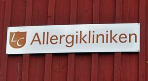 Allergiklinken i Hedemora behandlar sina patienter vid en klinik på Ivarshyttevägen.