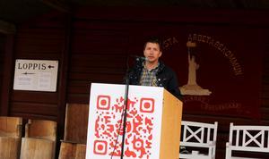 Marino Wallsten, ordförande för Socialdemokraterna i Fagersta. Foto: Lina Svalbro