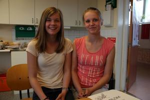 Evelina Isaksson och Fanny Storm tog hem vinsten i uppfinnartävlingen Finn upp.
