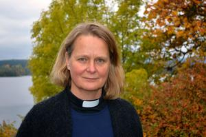 Katariina Sjöblom började sitt jobb som tillförordnad kyrkoherde i Gränge-Säfsnäs församling i våras.