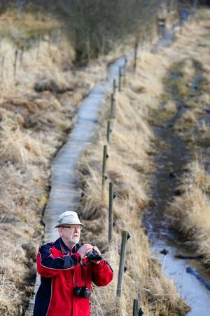 Runt Sågdammen och gamla Jädrabadet finns tre kilometer spång.