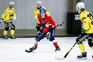 Jonas Edling visade vägen med tre mål mot Broberg.