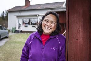 Pat beskriver sitt hus i Färila som hennes drömhem och så fort hon gick in i huset för första gången kände hon sig som hemma.
