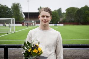 Alexander Gunnarsson var bäst med sitt lag SKH FC i Coachen i maj.