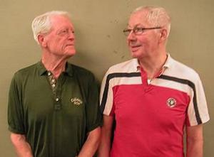Bosse Wallgren och Kurt Hillström
