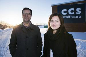 CCS:s VD Jonas Nilsson är stolt över att samarbeta med Susanna Kallur.