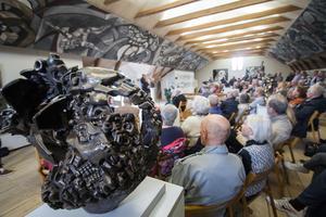 Galleri Astley firade sitt 40 årsjubileum med invigning av en utökad retroutställning med Ernst Neizvestny.