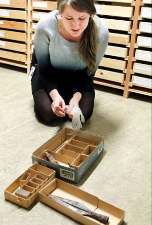 Börtnanfyndet ska nu skickas för konservering i Stockholm.