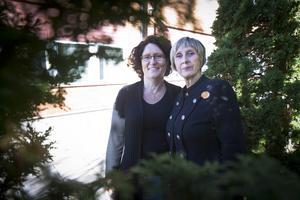 – Man ska ta tillvara på möjligheterna den här dagen, säger Kerstin Söderquist som tillsammans med Kerstin Stambert (vänster) håller i mässan den 9 oktober.