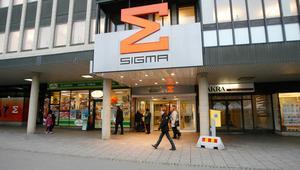 Sigmagallerian i centrala Västerås.