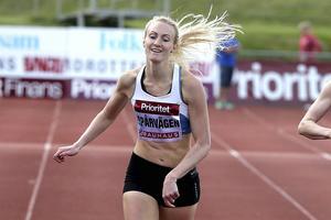 Isabelle Eurenius, sprinter med förflutet i Sollefteå GIF Friidrott