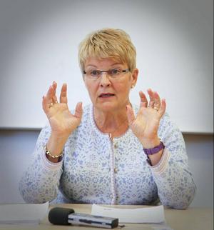 – Det här är ett sätt att visa att vi tror på Norrland, sa centerledaren Maud Olofsson.