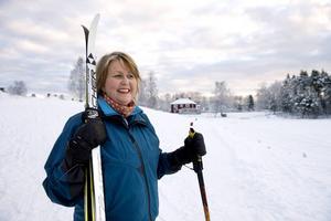 Anna-Lena Fjellström är redo för andra upplagan av Vojenfesten, i år med skidåkning som röd tråd.