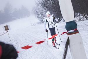 Markus Åkesson från Sörviksta, vinnare av sju-kilometersloppet på herrsidan.
