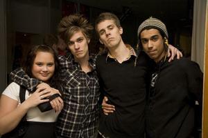 Lisa, Mathias, Cricke och Kricke.