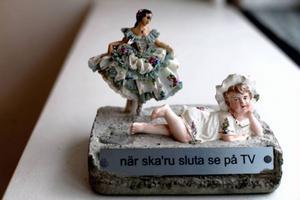 Anna Erlandsson blandar tekniker ...