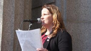 Marie Eriksson, ledamot i kommunfullmäktige.