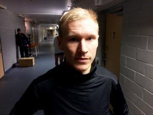 Jonas Engströms Broberg är ute ur World cup.