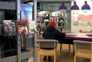 Barn och unga lånar färre böcker på bibliotek.