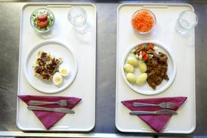 Kan förbättras. Miljöpartister vill satsa på bättre och mer smakrik mat i äldrevården.foto: margareta andersson