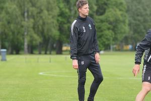 Johan Eklund tränar med IK Brage