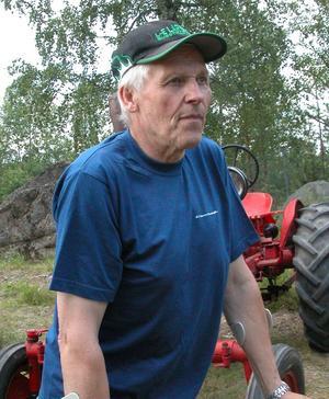 Traktorintresserad. Lars- Erik Larsson visade upp sin A Ford EPA som hans far tillverkade en gång i tiden.