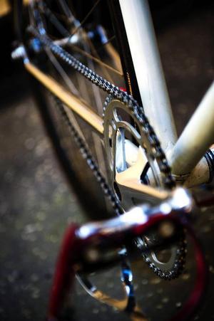 Många växlar underlättar cyklandet.