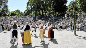Godkänt? Folkdans hör till de kulturyttringar som SD gillar. Miljöpartiet vill ha en fri och skattefinansierad kultursektor.