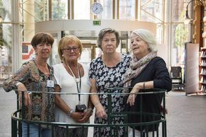 Margit Jonsson, Gun Persson, Ingrid Marklund och Barbro Eriksson höll i spakarna under höstpremiären i veckan.