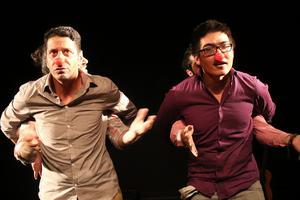 Anas Alasad och Mohammad Isai i