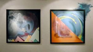 Henrik Ljusberg visar sina egna verk på Urbn Arts.