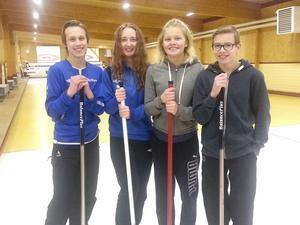 Solängsskolan vann Gävles första Skol-DM i curling. Laget bestod av Arvid Norin, Linn Wilhelmsson, Elvira Silver och Ludvig Köhn.