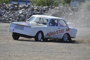 SMK Hälsinge hade två bilar som de ställde till landslagets förfogande.