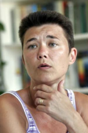 Jeanette Lindh har tröttnat på bullret och skakningarna från Björneborgsgatan