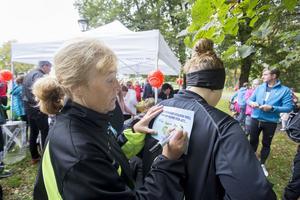 Eva Lundholm och dottern Susanne tyckte det var viktigt att delta.