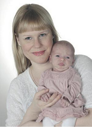 Linda Hagberg från Borlänge fick en dotter den 1 februari som heter Sel- ma. Hon var 50 cm lång och vägde 2 960 gram.
