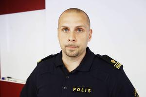 Lars Andersson på polisen.