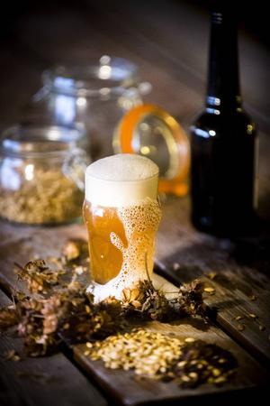 Öl kan vara både gott och snyggt på bild.