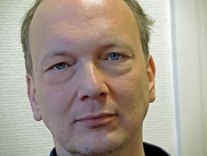 Joakim Andersson, Borlänge, menar att tillståndet i Borlänge är summan av alla våras gemensamma ansträngningar. Foto: Jerry Brodin