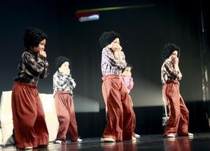 Charmigt. De små tandtrollen var ett av de charmigare inslagen på Kulturskolans dansuppvisning.