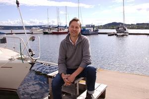 Pär Åsgårdh är projektledare för Båtens dag, en dag som bjuder på turer på Storsjöns böljande vågor även om du inte har en båt.