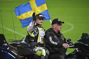 Fredrik Lindgren (bilden) och Peter Ljung slutade femma i Speedway of Nations.