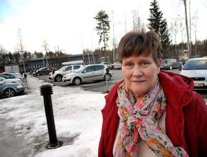 Sanna Wallin, ombudsman på Fastighetsanställdas förbund, som har legat i konflikt med Arbetskällan i Ludvika under två år. För ett par veckor sedan vann de mot företaget i tingsrätten.