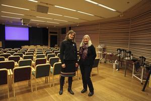 Rebecka Bjurhall och Anette Svensson vill förbättra miljön på förskolorna.