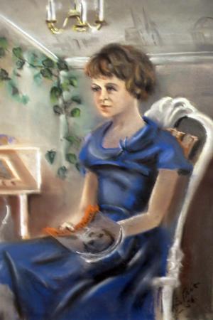 Elisabeth Schönnings, som blev avporträtterad 1956.