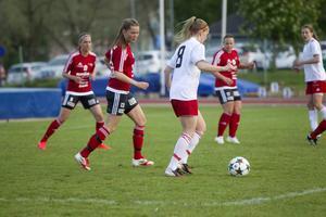 Sanna Lööw Ohlson gjorde tre mål för Alnö.