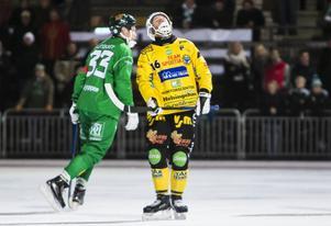 Jonas Nygren deppar över förlusten mot Hammarby.