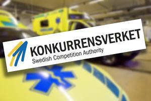 Konkurrensverket granskar bara särskilt viktiga och intressanta fall. Region Gävleborgs ambulansaffär har inte anmälts för tillsyn än.