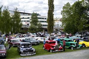 Med hundratals bilar i olika modeller och färger att titta på fanns det något för alla smaker.