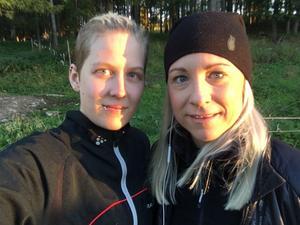 Linnea Hemå och Helena Modigh.